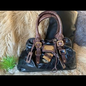 Chloê leather handbag